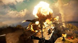 Wildfire Explosion Gif by Just Cause 3 In Game 1080p Screenshots Released Looks Stunning