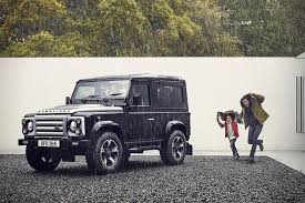 land rover defender 2016 land rover defender 40th anniversary by overfinch hiconsumption