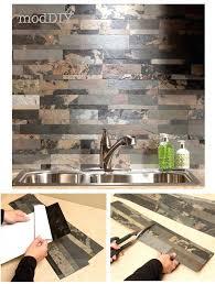 self adhesive kitchen backsplash peel and stick backsplashes for kitchens on subway tile stickers