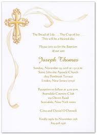 baptism invitations cross with gold ribbon baptism christening invitations storkie