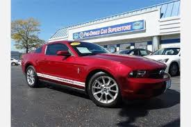 used ford mustang 2010 used ford mustang for sale in palatine il edmunds