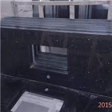 black galaxy kitchen prefab granite countertop precut bathroom