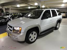 chevrolet trailblazer white 2008 chevrolet trailblazer lt 4x4 in summit white 163552 all