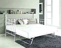 White Metal Daybed With Trundle White Metal Trundle Daybed Daybed Collections Ideas