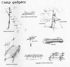 a canadian guider camp gadgets roughing it pinterest gadget