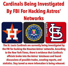 Houston Astros Memes - st louis cardinals astros hacking investigation all the memes