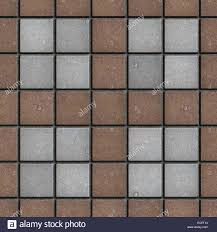 Brick Pavers Pictures by Brown Gray Square Brick Pavers Seamless Texture Stock Photo
