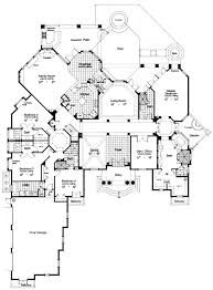 Fantasy Floor Plans First Floor Plan Of Florida Luxury Mediterranean House Plan 63079