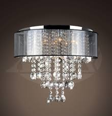 Crystal And Chrome Chandelier Vanessa Chrome And Translucent Black Shade 9 Light Crystal
