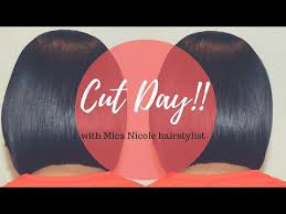 how to trim relaxed hair search result youtube video trim relaxed hair