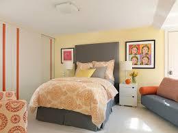 grey yellow bedroom exquisite use of grey yellow and orange in the bedroom eva