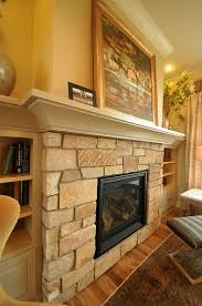 Bedroom Fireplace Ideas by 217 Best Fireplaces Using Stone Images On Pinterest Fireplaces