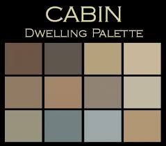 Color Palettes For Home Interior Cabin Dwelling Palette Cabin Paint Colors Benjamin Moore Paint