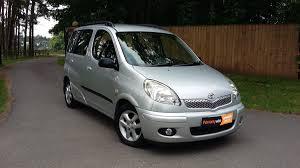 toyota yaris verso 2004 toyota yaris verso 1 3 vvti auto t spirit u2013 woodlands cars ltd