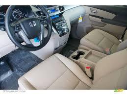 Honda Odyssey Interior Beige Interior 2012 Honda Odyssey Touring Elite Photo 68668531