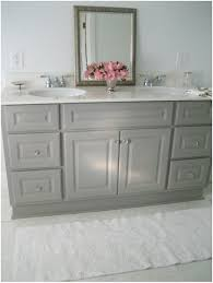 bathroom grey bathroom vanity cabinet diy custom painted grey