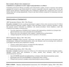office assistant resume examples senior administrative example
