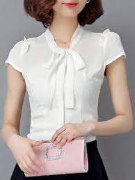 formal blouse white blouse plus size top for casual office evening dress ph