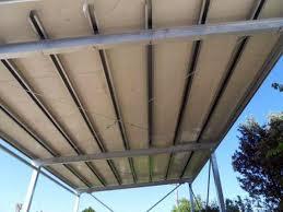 tettoia in ferro foto pratica edilizia per tettoia in ferro con fotovoltaico di