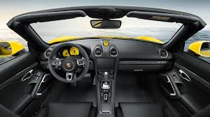 2001 porsche boxster interior porsche exclusive u0027s enhancements for 718 are subtly effective