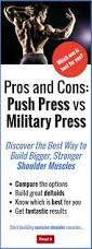 pros and cons push press vs military press