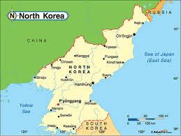 Map Of World Korea by North Korea By Zachary Neal