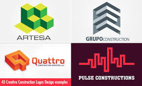 Business Card For Construction Company 40 Creative Construction Logos Design Examples For Your