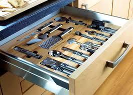 Kitchen  Modern Kitchen Cabinet Utensil Steel Depot Drawer - Kitchen cabinet drawer dividers