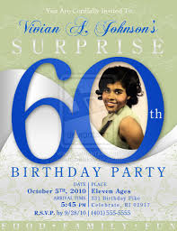 sample 60th birthday invitations free project plan word template