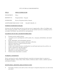 collection of solutions resume objective examples dispatcher
