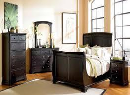 Michigan DARK WOOD Bedroom Furniture  KING SIZE BED EBay - Dark wood bedroom furniture ebay