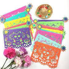 Day of the Dead Decorations Papel Picado Fiesta Decorations