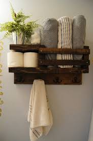 Bathroom Towels Ideas Bath Towel Shelf Bathroom Wood Shelf Towel By Madisonmadedecor