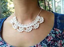 lace necklace pattern images Pdf tutorial crochet pattern lace jewelry necklace etsy jpg