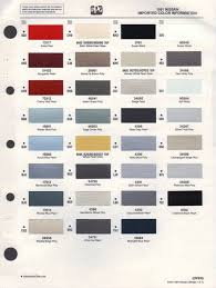 chart dupont color chart
