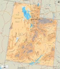 Utah Idaho Map by Map Of Utah Travel Map Vacations Travelsfinders Com