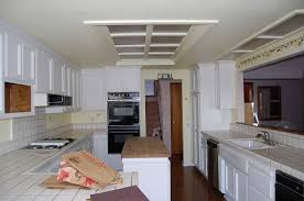kitchen cabinet soffit lighting how to replace fluorescent light fixture in kitchen