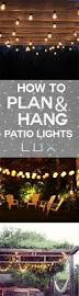 Hanging Patio Lights by Best 25 Backyard String Lights Ideas On Pinterest Patio