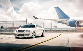 white bentley wallpaper bentley continental flying spur tuning car 7011568