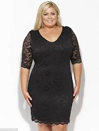 black dress size 16 dress ty