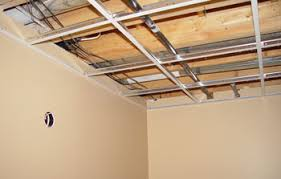 Ceiling Tile Installation Drop Ceiling Installation Acoustic Ceiling Tile Grid