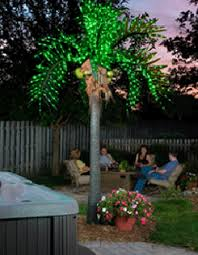 outdoor lighted palm tree free shipping