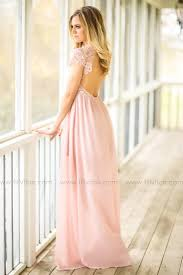 blush maxi dress bridesmaid maxi dress blush filly flair