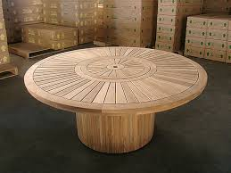 48 round teak table top round dining table 180cm