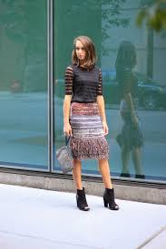 sweater skirt fringed glinted sweater skirt the fox she