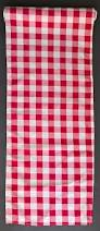 amazon com checkered gingham table runner 14 x 108 inches red and
