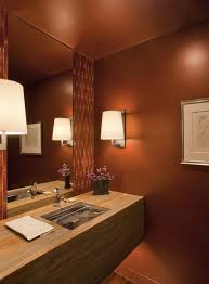 powder room paint colors powder room contemporary with sconce