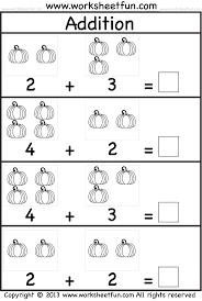 halloween math worksheets for kindergarten photocito
