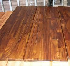 prefinished anti slip golden teak acacia wood stair treads