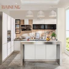 white gloss glass kitchen cabinets high gloss solid white glass stainless steel kitchen cabinet